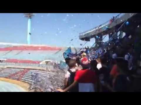 Recibimiento de La Petrolera en la final de Copa Venezuela - La Petrolera - Zulia - Venezuela - América del Sur