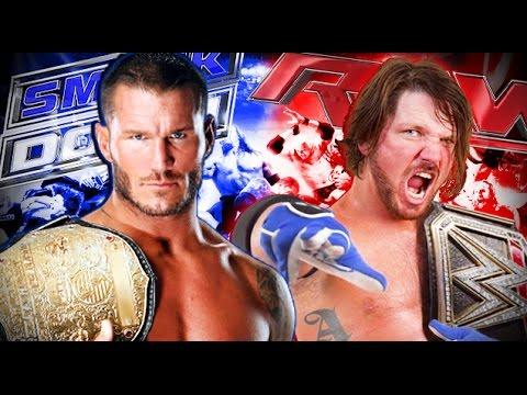 WWE Brand Split Between RAW & SmackDown Is F'N Back!
