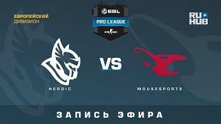 Heroic vs mousesports - ESL Pro League S7 EU - de_cobblestone [ceh9, Enkanis]