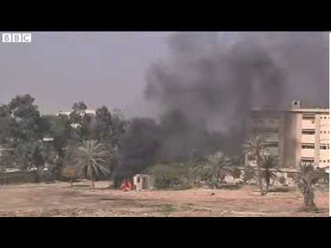 Egypt protesters set fire to Cairo campus