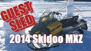 7. Guest Sled, 2014 Skidoo MXZ