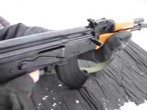 tiro de Ak-47