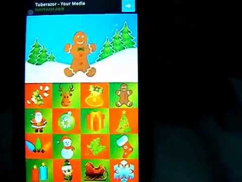 Video of Toddler Christmas Touch Game