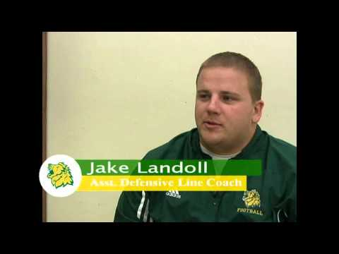 Assistant Defensive Line Coach Jake Landoll