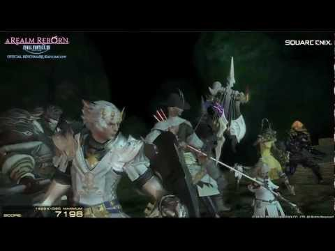 Arr - Follow Me! http://www.twitter.com/maximilian_ NEW Facebook Page! http://on.fb.me/Nl2kPa FULL DETAILS FINAL FANTASY XIV: A Realm Reborn Official Benchmark (Ex...