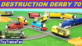 Video Trackmaster Destruction Derby #70 - Thomas & Friends toy Crashes - Playtime with trains MP3, 3GP, MP4, WEBM, AVI, FLV Januari 2019