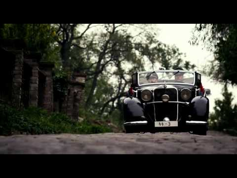 The assassination scene from Lidice (2011)