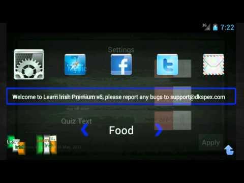 Video of Learn Irish Lite {demo}
