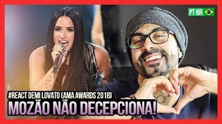 REAGINDO a Demi Lovato - Sorry Not Sorry (Live From The 2017 American Music Awards)