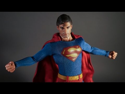 Hot Toys Christopher Reeve Evil Superman III MMS 207 Toy Review 12″ Figure Version 1/6 3