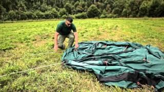Трехместная кемпинговая палатка купольного типа с алюминиевыми дугами. Alexika Minnesota 3 Luxe Alu