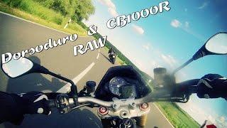 9. Aprilia Dorsoduro 1200 & Honda CB1000R || Fast round @ Hometrack