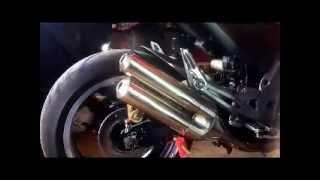 9. Kawasaki Z1000 2006 STANDARD SHOTGUN EXHAUST MODIFICATION