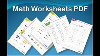 http://www.math4childrenplus.com  Math Worksheets For Kids  Pdf Printable downloads FREE !. Here is a collection of free printable math worksheet downloads for kids from Kindergarten to 7th grades. Each sheet has an answer key attached on the second page. Please SHARE !Background sound source: bensound.com