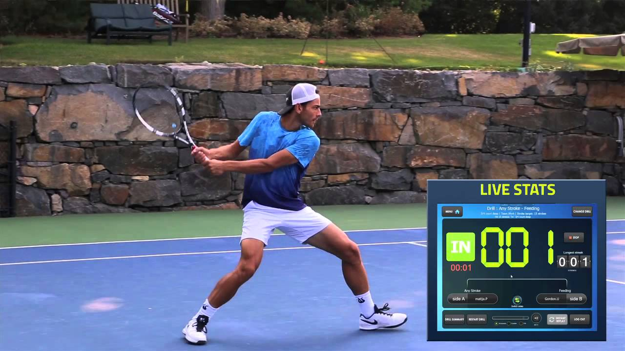 PlaySight Tennis Tips: The All-Court Drill