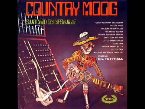 Folsom Prison Blues - Gil Trythall (1970) Moog Synthesizer