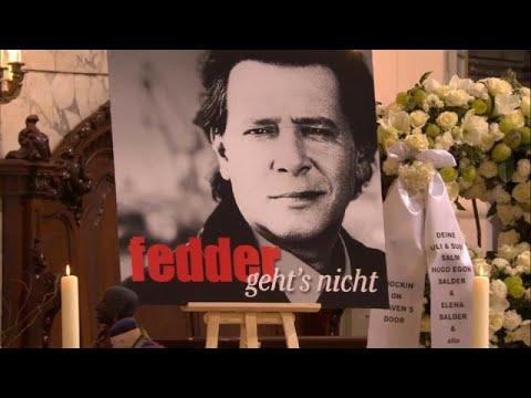 Bewegender Abschied - Hamburg sagt: Tschüss, Jan Fedd ...