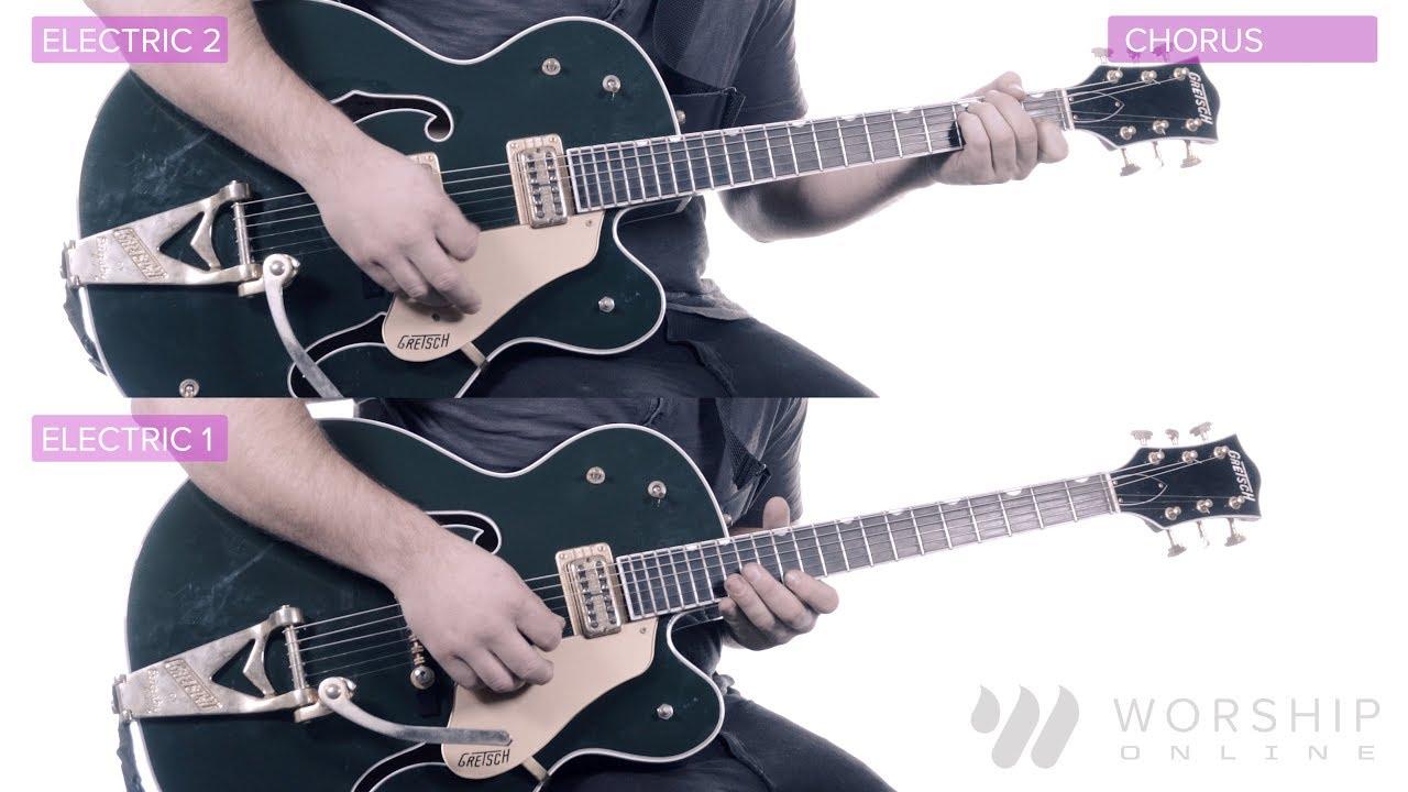 Beautiful Day – Jesus Culture – Electric & Acoustic Guitar Tutorial