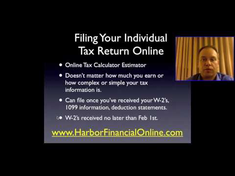 TurboTax Free Edition 2010, 2011 is Available for Tax Filing Announces Harbor Financial