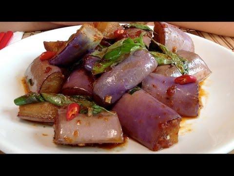 Asian Eggplant Recipes-How To Cook Eggplant-Stir Fry-Vegetarian