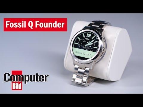 Ein Fossil wird smart: Fossil Q Founder im Test