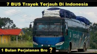 Video 7 BUS dengan Trayek Terjauh di Indonesia (Revisi) MP3, 3GP, MP4, WEBM, AVI, FLV September 2018