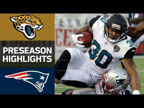 Jaguars vs. Patriots  NFL Preseason Week 1 Game Highlights