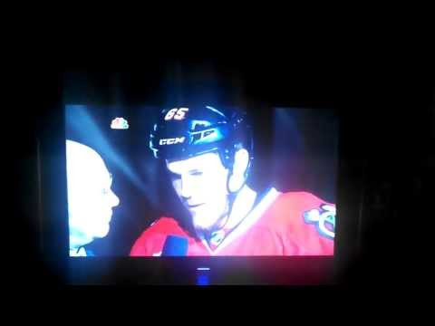 Andrew Shaw Drops The F-Bomb After Huge Win
