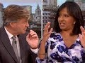 Good Morning Britain presenter ELECTROCUTED live on air   ITV   ELECTROCUTED