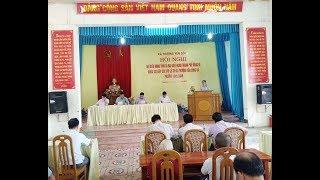 Đại biểu HĐND thành phố tiếp xúc cử tri xã Thượng Yên Công và phường Vàng Danh