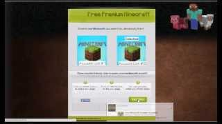 How To Get FREE Minecraft Premium Accounts - February 2013 - Updated Daily!