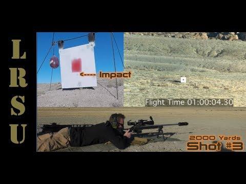 Long Range Shooting 2000 Yards - Tikka 6.5 x 47 Lapua vs Milk Jug