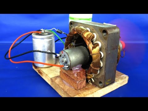 Video New free energy electric dc motor generator 220v AC to 12V DC - DIY Experiments projects at school download in MP3, 3GP, MP4, WEBM, AVI, FLV January 2017