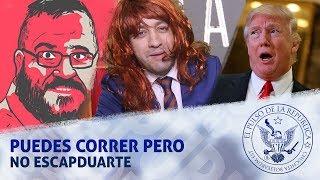 PUEDES CORRER PERO NO ESCAPDUARTE - EL PULSO DE LA REPÚBLICA