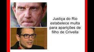 Filho de Crivella não pode participar de eventos oficiais da prefeitura.