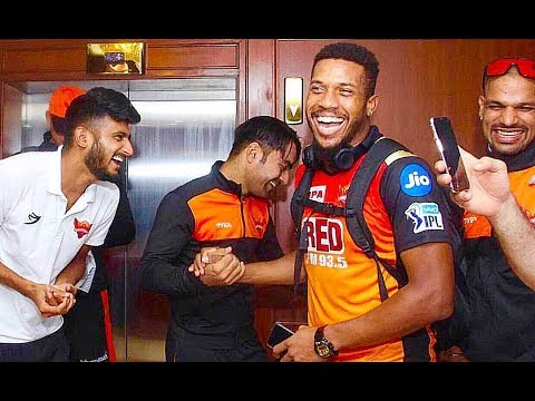 Srh 2018 I Inside Dressing Room  Vivo Ipl Funny videos