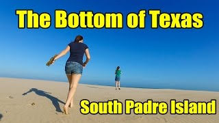 """We venture from San Antonio down to the """"bottom of Texas"""" as were told it's called by the locals. We stay at the county park Isla Blanca right on the peninsula of South Padre Island. We go across the causeway and explore the tiny tourist town. We also have to extend our stay due to hurricane force winds that prevent us from leaving the island. Join us on our journey further south as we try to out run the bad weather."""