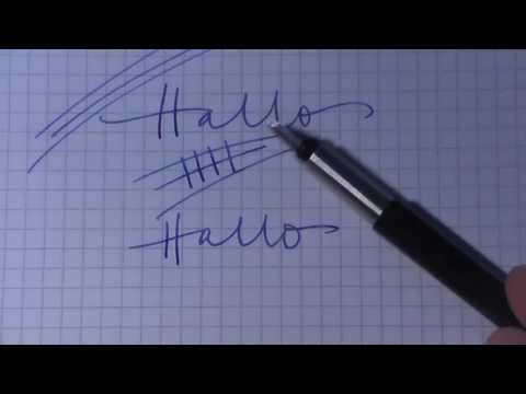 #9 PARKER Vector Der ideale Schulfüller für Ihr Kind: Fountain Pen Review