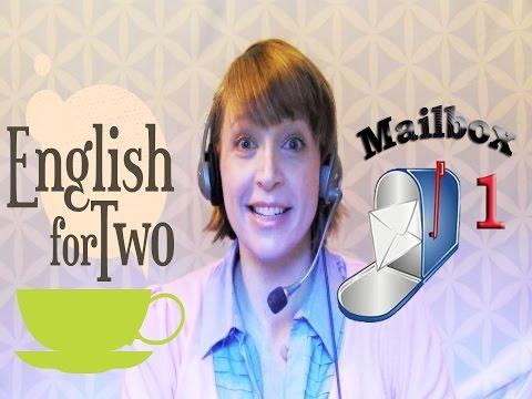 Learn English Skype Teacher, Mailbox 1 Verb Tenses