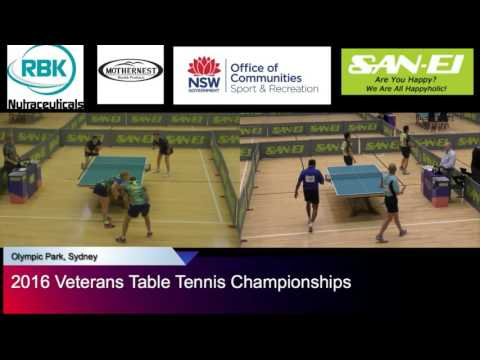 2016 Australian Veterans Table Tennis Championships