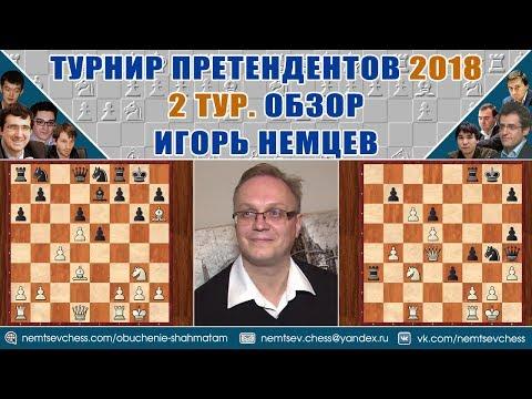Турнир претендентов 2018. Обзор 2 тура. Игорь Немцев. Шахматы