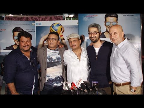 Interview With Anupam Kher,Tigmanshu Dhulia, Annu Kapoor & Piyush Mishra For Movie The Shaukeens