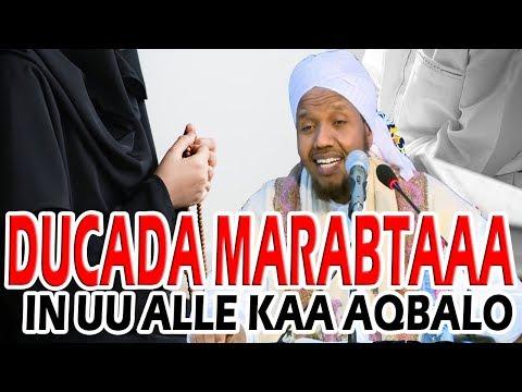 QISOOYIN CAJIIB AH || DUCADA IN UU ALLE KAA AQBALO MARABTAA ? || Sh Cabdirashiid Cali Suufi