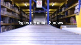 Types of Wood Screws