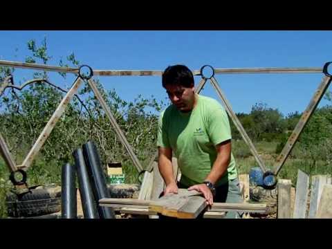 3 Construcción de una cupula geodesica o domo