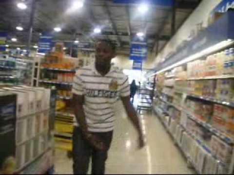 footworks in supermarket.wmv
