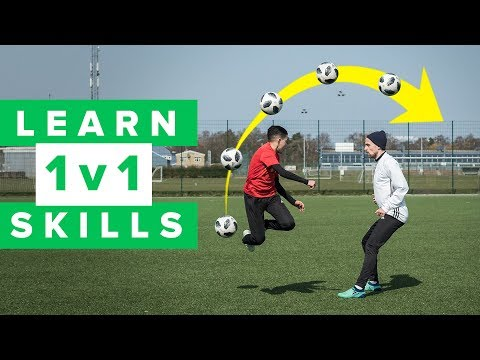 Learn 5 Cool 1 V 1 Football Skills