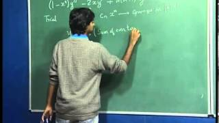 Mod-01 Lec-18 Mathematics for Chemistry