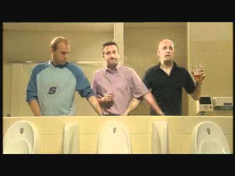 Not Going Out & The Sketch Show - Lee Mack Urinal Sketch with Tim Vine & Jim Tavaré - HILARIOUS