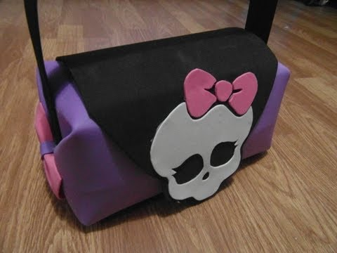 BOLSO (PURSE) MONSTER HIGH DE GOMA EVA (FOAMI)